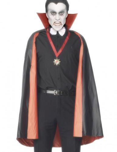 Omkeerbare vampierencape voor mannen Halloween
