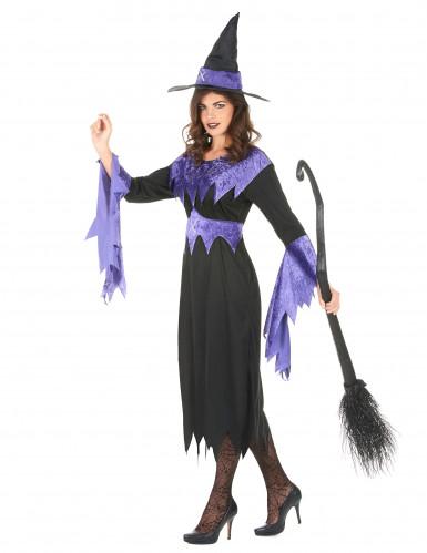 Heksen Halloween kostuum voor vrouwen-1