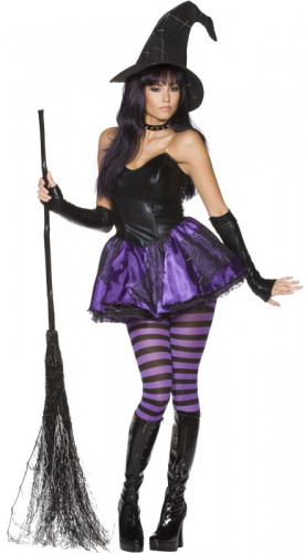 Sexy Halloweenheksenkostuum voor dames