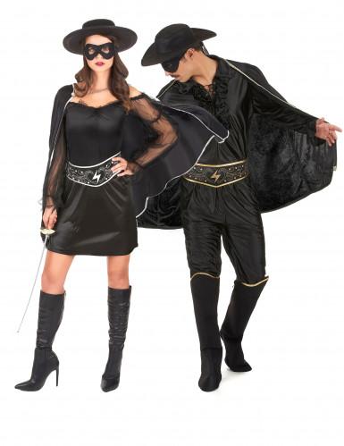 Musketier kostuum voor koppels