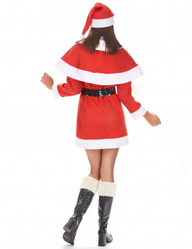 Traditioneel kerstvrouw kostuum voor dames-2
