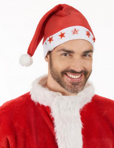 Kerstmuts voor volwassenen met licht-2