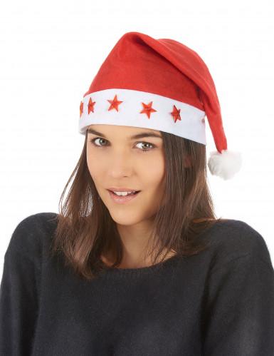 Kerstmuts voor volwassenen met licht-1