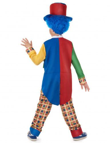 Geruit clown pak voor kinderen-2