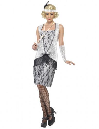 Jaren 20 Charleston outfit voor vrouwen