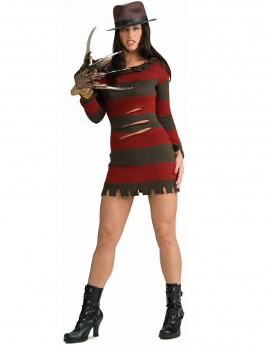 Freddy Krueger™ kostuum voor vrouwen
