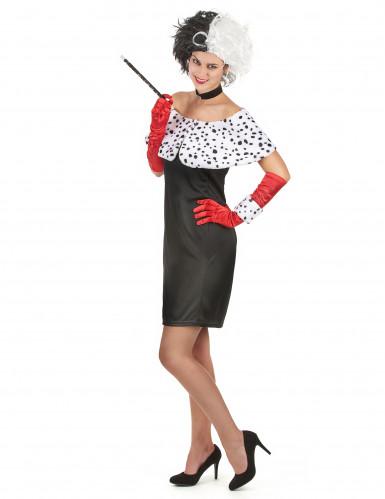Sexy Cruella kostuum voor vrouwen-1