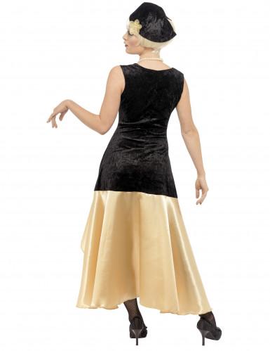Satijnachtig charleston kostuum voor vrouwen-2