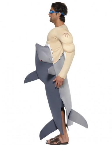 Jaws haaien kostuum voor mannen-2