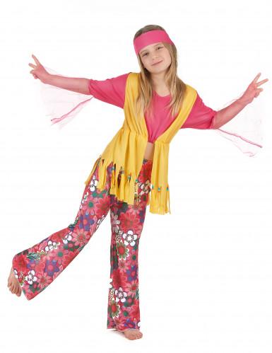 Veelkleurige hippie outfit voor meisjes
