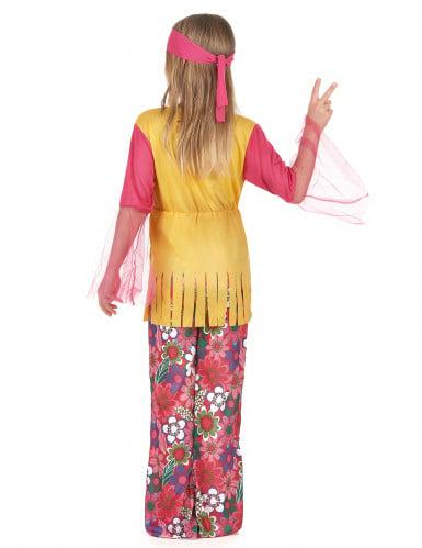 Veelkleurige hippie outfit voor meisjes-2