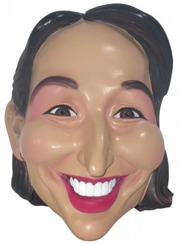 Masker van Ségolène Royal voor volwassenen