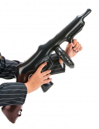 Opblaasbaar gangster machinegeweer-1