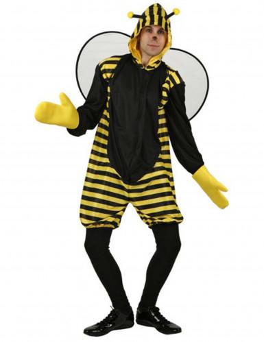 Grappige bijen outfit voor volwassenen