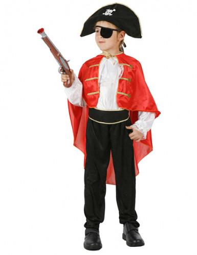Caraïbische piraten kapitein outfit voor jongens