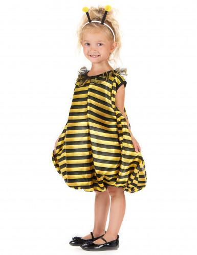 Gele en zwarte bijenjurk voor meisjes-1