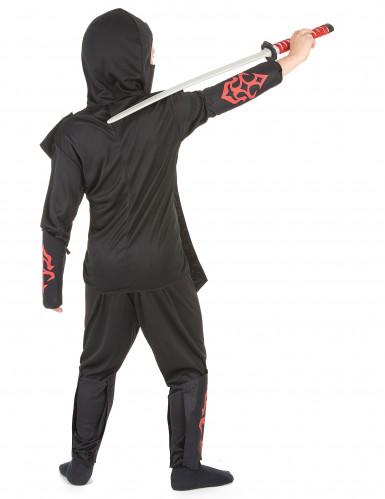 Doodskop ninjakostuum voor jongens-2