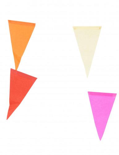 Veelkleurige papieren slinger-1