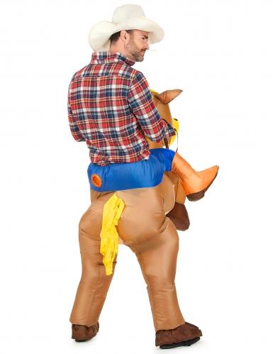 Opblaasbaar paardenpak voor volwassenen-2