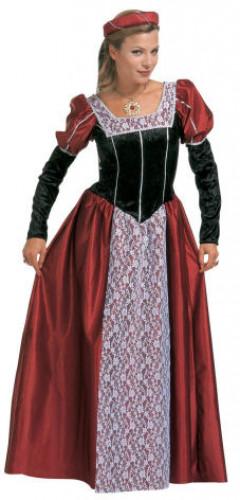 Middeleeuws prinsessen kostuum voor vrouwen
