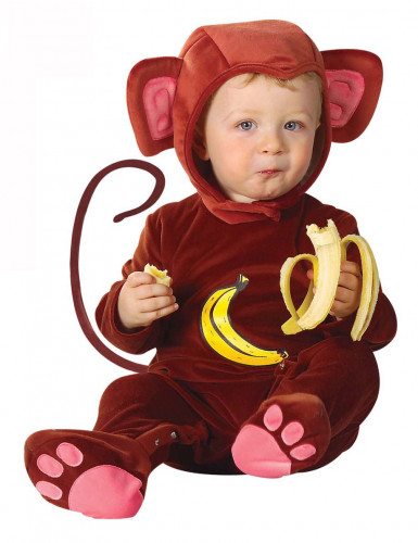 Rode aap outfit voor baby's