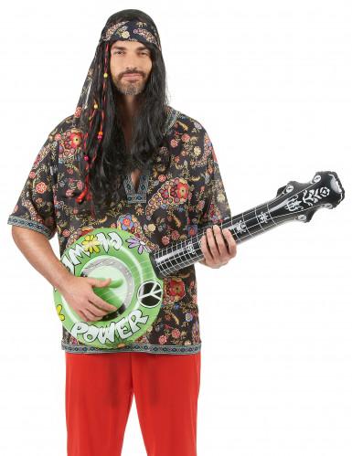Opblaasbare hippie banjo-3