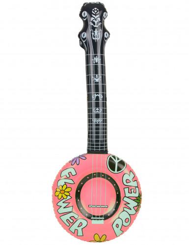 Opblaasbare hippie banjo-2
