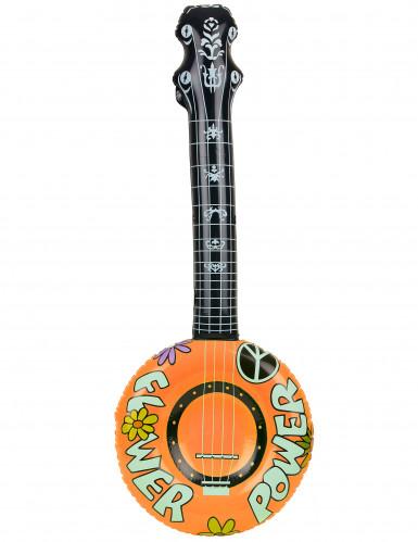 Opblaasbare hippie banjo-1