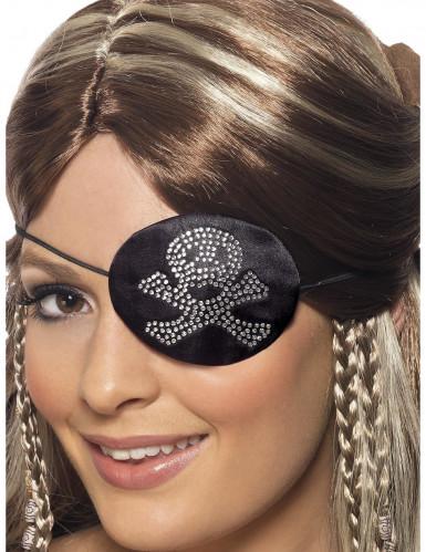 Piraten ooglapje voor vrouwen-1