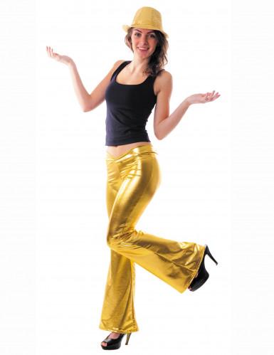 Gouden discobroek voor vrouwen