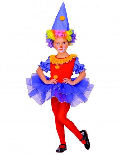 Clownspak meisje