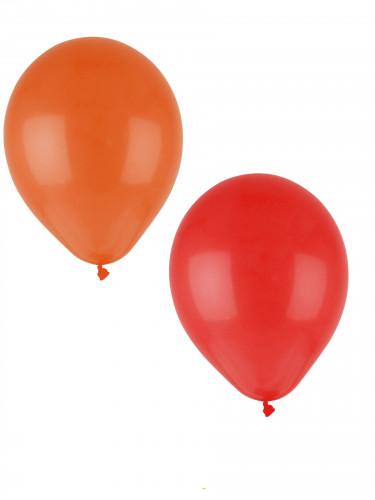 24 pastelkleurige ballonnen