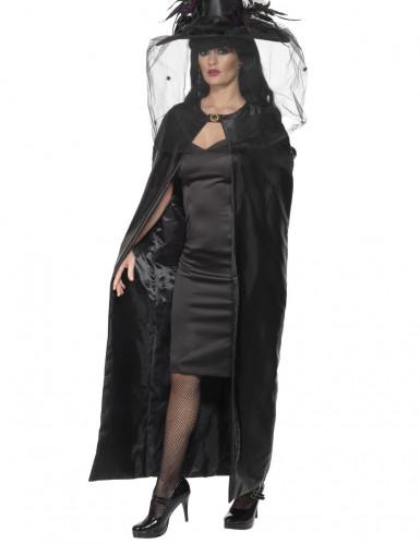 Luxueuze heksencape voor Halloween