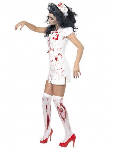 Sexy zombie verpleegster jurk voor vrouwen-1
