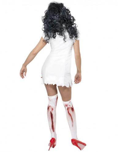 Sexy zombie verpleegster jurk voor vrouwen-2