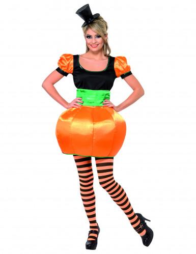 Pompoenkostuum voor vrouwen Halloween