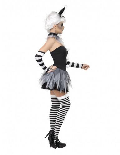 Sexy Halloween-Pierrotpak voor dames-1