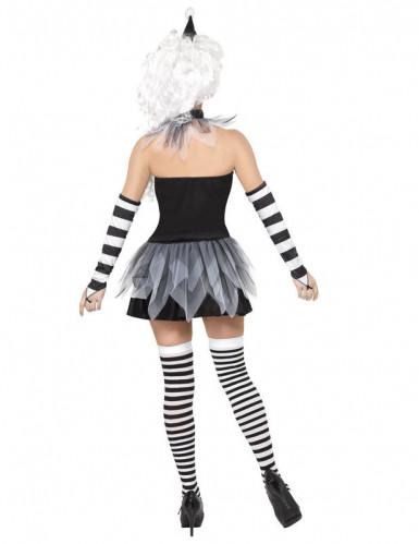 Sexy Halloween-Pierrotpak voor dames-2