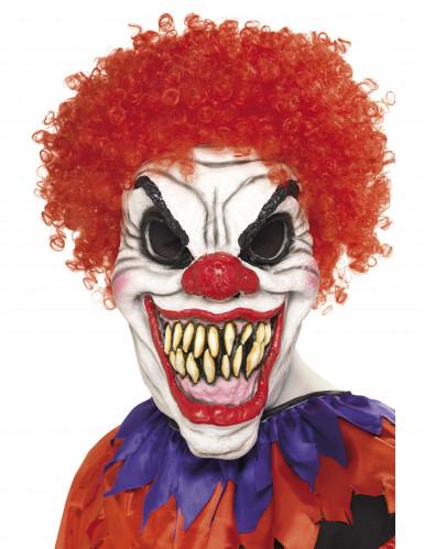 Eng horrorclown masker voor volwassenen