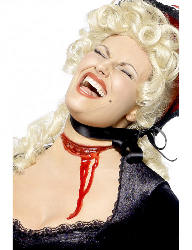 Nep open keel wond voor volwassenen Halloween