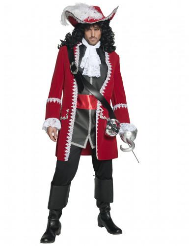 Kostuum van een piratenkapitein voor mannen