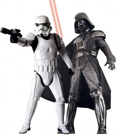 Kostuum voor koppels van de supreme editie Dark Vador & Stormtrooper Star Wars™