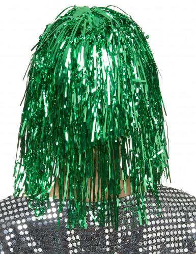 Groene glitterpruik voor vrouwen-1