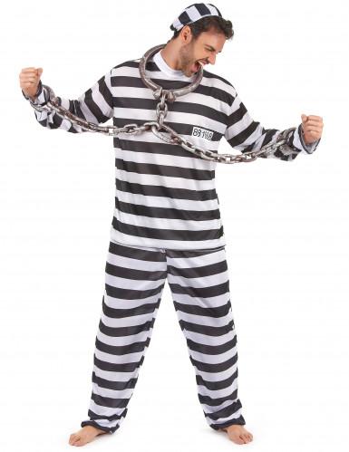 Gevangenis outfit voor mannen