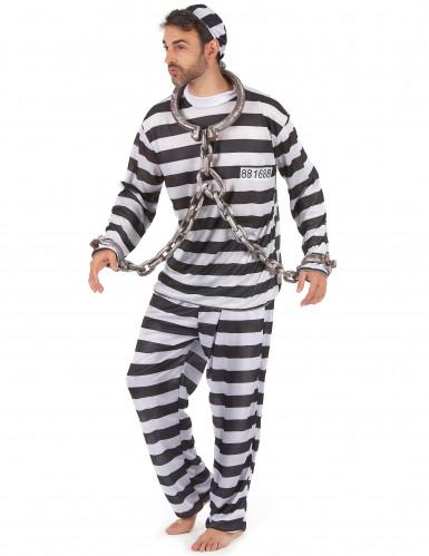 Gevangenis outfit voor mannen-1