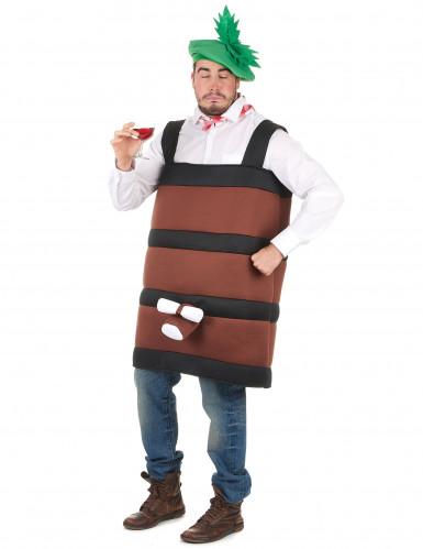 Wijnvat kostuum voor volwassenen-1