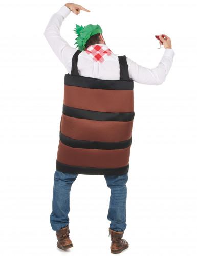 Wijnvat kostuum voor volwassenen-2