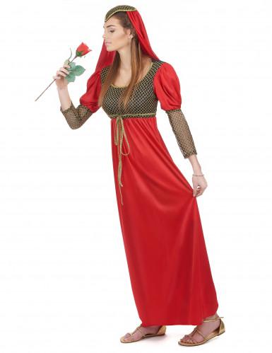 Middeleeuwse koppel kostuums-1