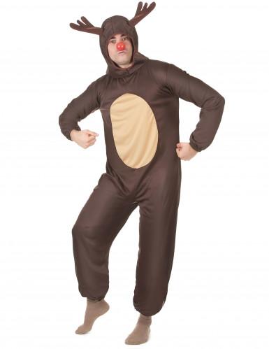 Kerst rendier kostuum voor volwassenen-1