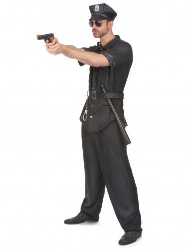 Politie agent kostuum voor heren-1